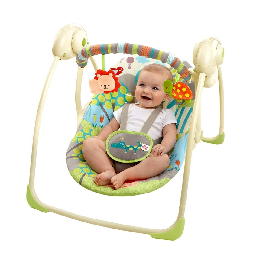 Bright Starts™ Up, Up & Away Portable Swing image-0