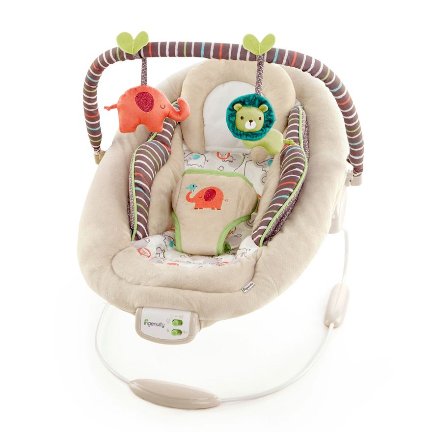 Comfort & Harmony™ Cozy Kingdom Bouncer image-0