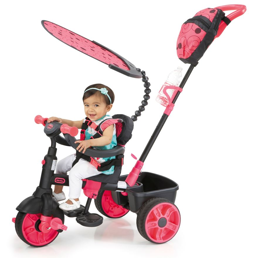 Little Tikes 4-in-1 Deluxe Neon image-0