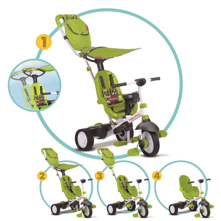 Fisher-Price Charisma Trike Green image-0