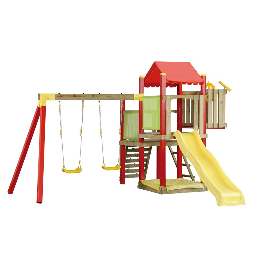 Jumbo Jungle Gym � Climbing Frame & Play Centre - Swings & Slides ...
