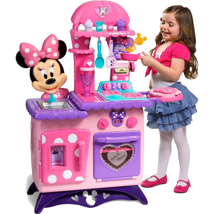 Disney Minnie Mouse Flipping Fun Kitchen image-0