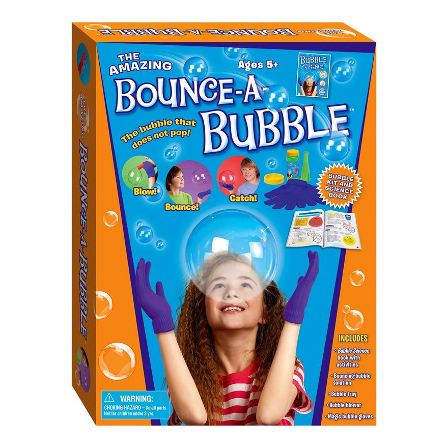 Bounce-a-Bubble Kit with Bubble Science