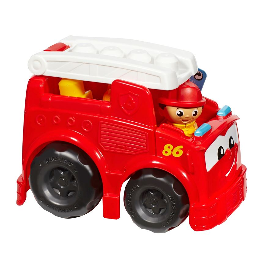 Mega bloks First Builders Lil Vehicles Freddy Firetruck image-0
