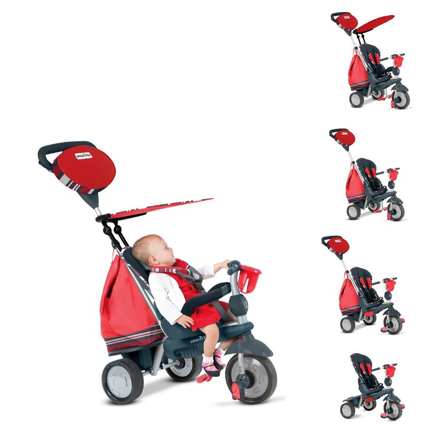 SmarTrike Dazzle 5 Trikes in 1 Red image-0