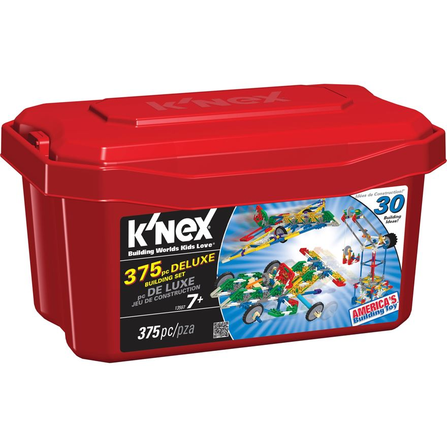 K'NEX 375 pieces Deluxe Building Set image-0