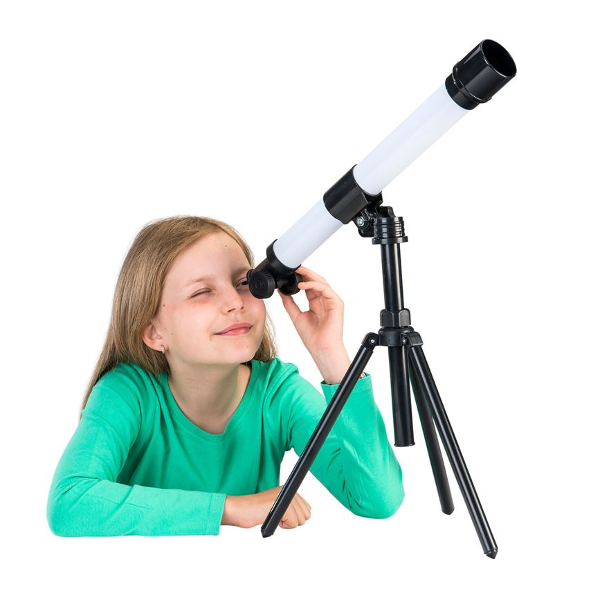 30 x 40 Telescope with Tripod image-0
