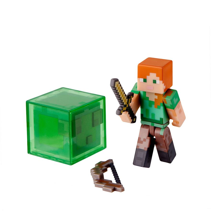 Minecraft Series 3 Alex Action Figure with Accessory image-0