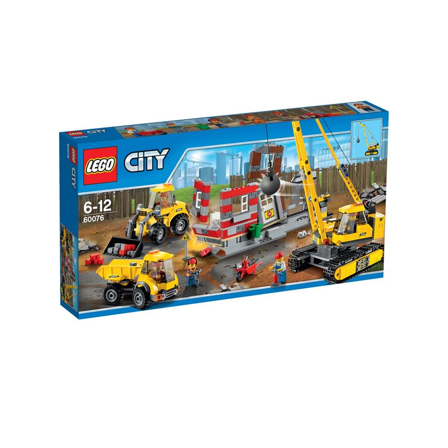LEGO City Demolition Site 60076 image-0