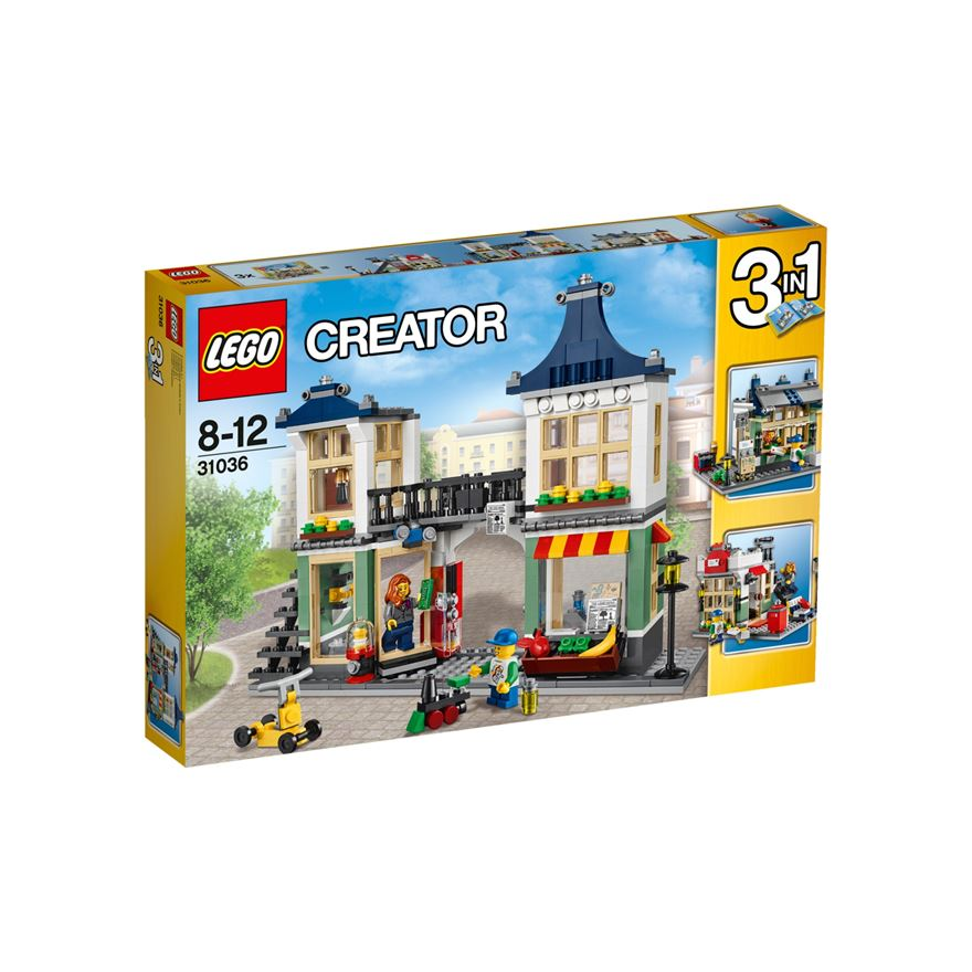 LEGO Creator Toy & Grocery Shop 31036 image-0
