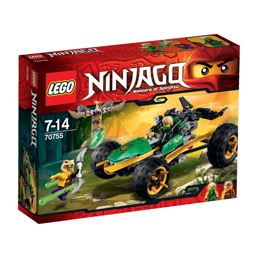 LEGO Ninjago Jungle Raider 70755 image-0