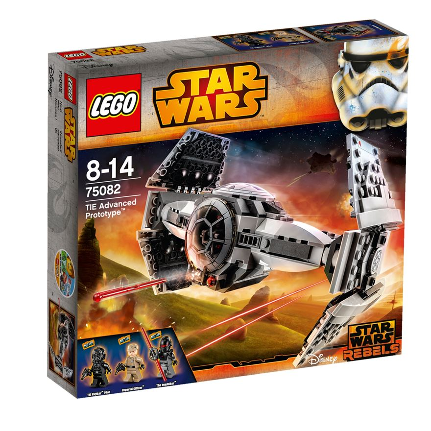 LEGO Star Wars TIE Advanced Prototype 75082 image-0
