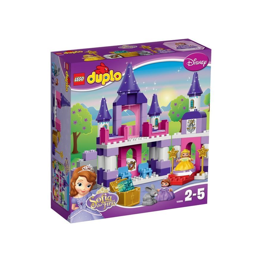 LEGO Duplo Sofia the First Royal Castle 10595 image-0