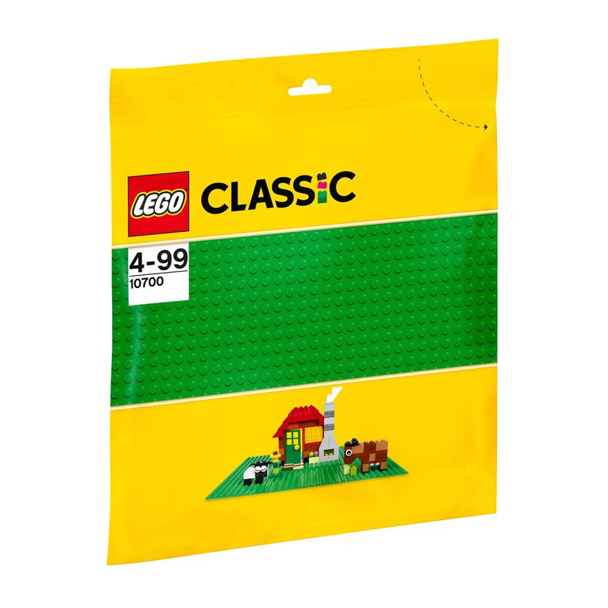 LEGO Classic Green Baseplate 10700 image-0
