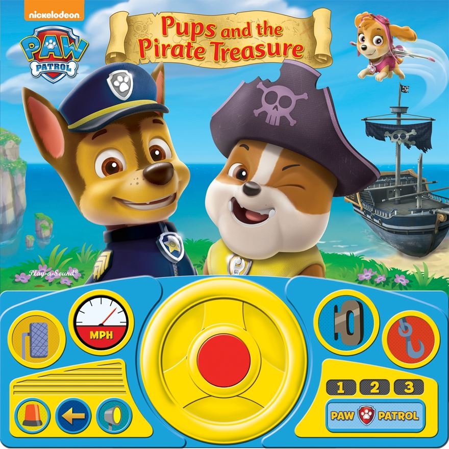 Paw Patrol Steering Wheel Sound Book image-0