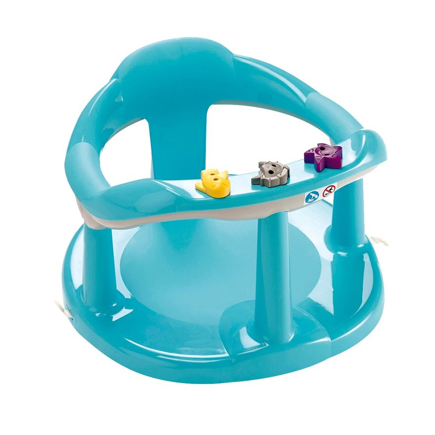 Thermobaby Aquababy Bath Seat Blue image-0