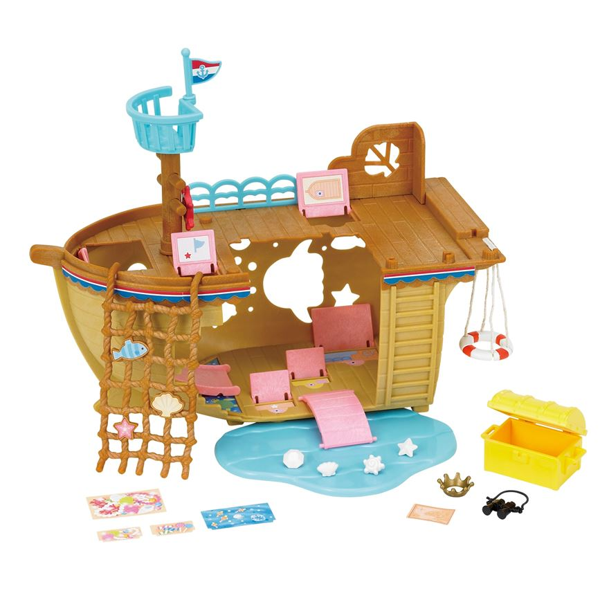 Sylvanian Families Adventure Treasure Ship image-0