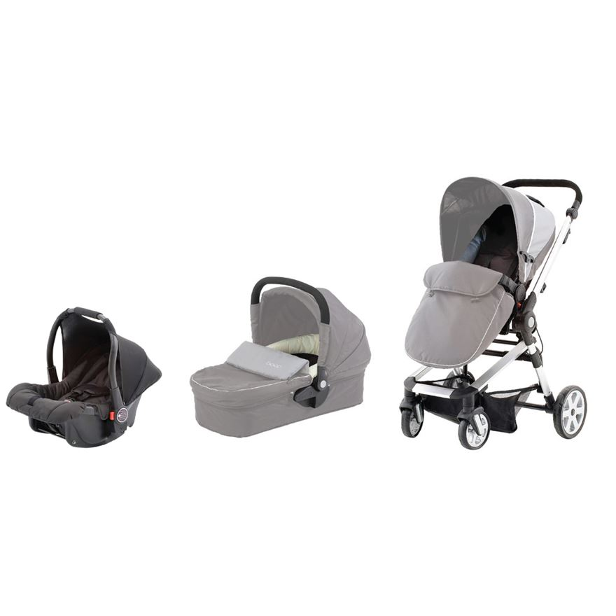 Beep Twist Travel System Frame & Car Seat image-0