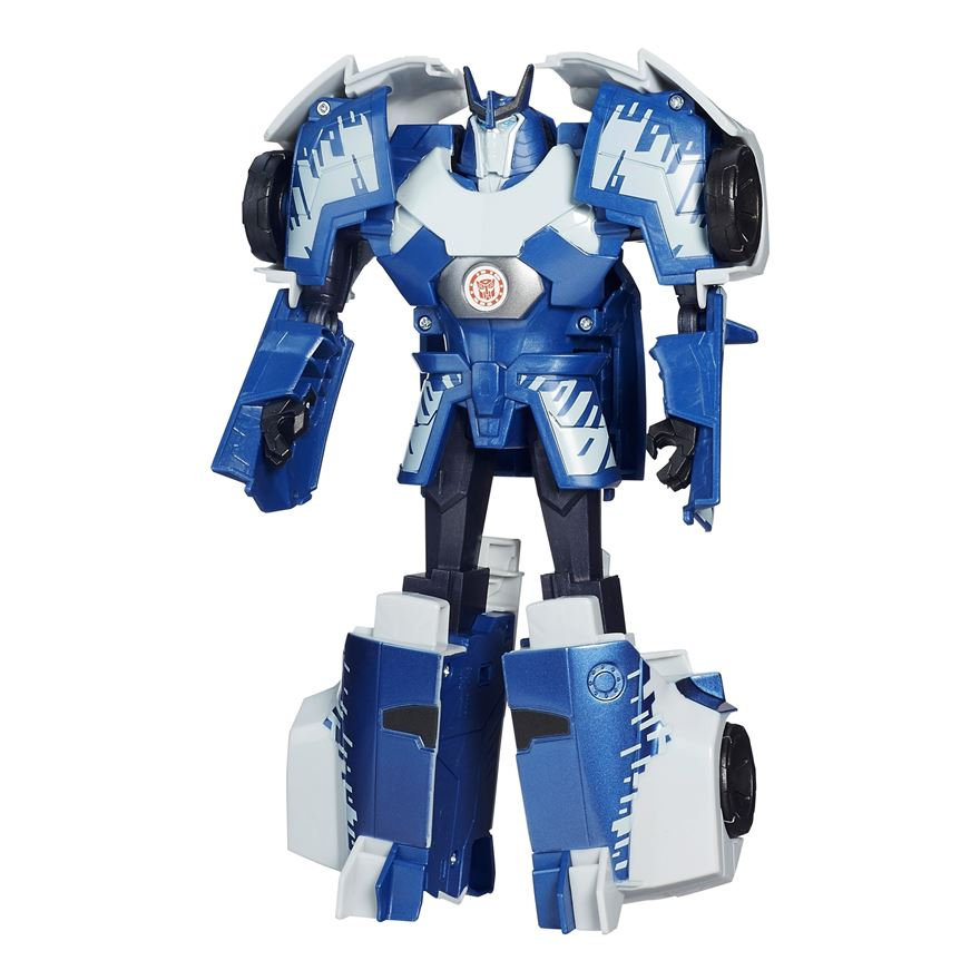 Transformers Robots in Disguise 3-Step Changers Autobot Drift Figure image-0