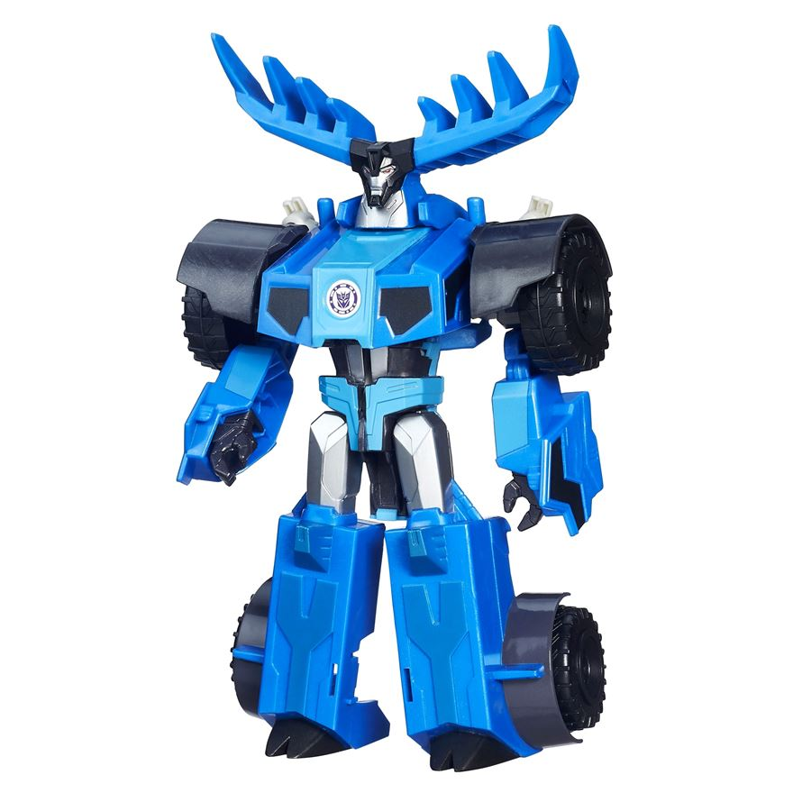 Transformers Robots in Disguise 3-Step Changers Thunderhoof Figure image-0