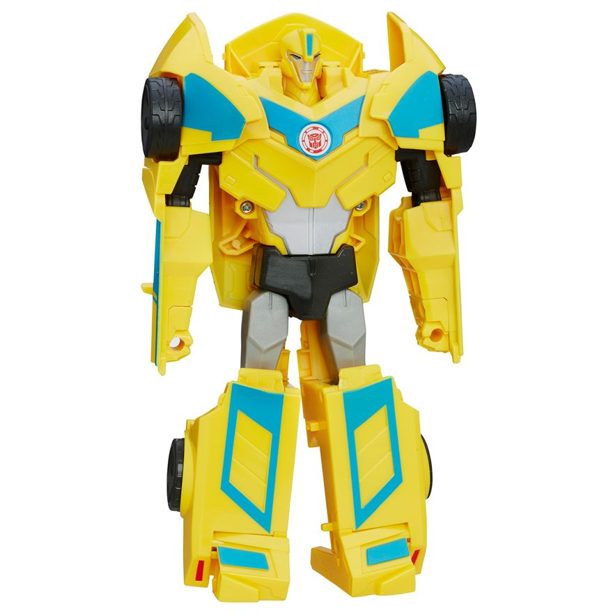 Transformers: Robots in Disguise Energon Boost Bumblebee 3-Step Changer image-0