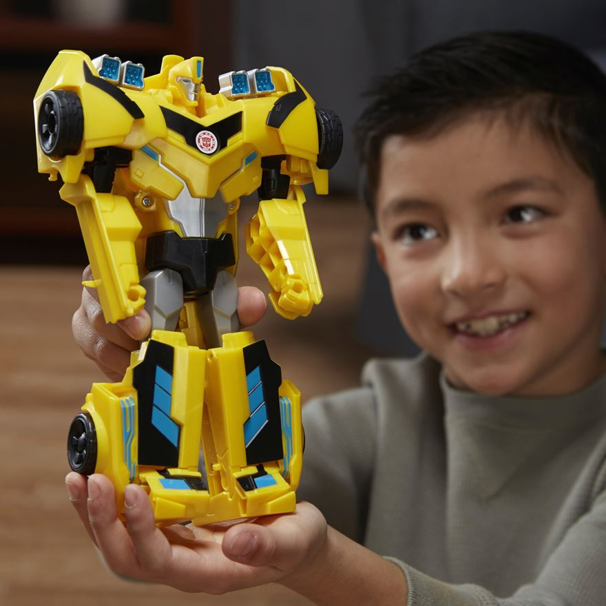 Transformers Combiner Force 3-Step Changer Bumblebee image-0