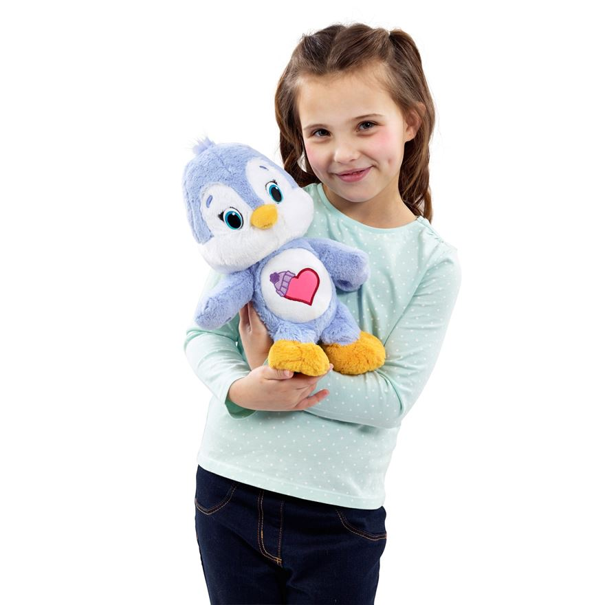 Care Bear Medium Plush with DVD Cozy Heart Penguin image-0