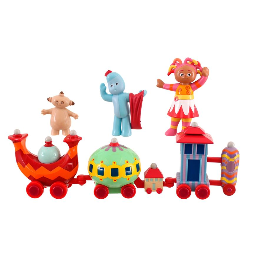 In The Night Garden Ninky Nonk Train and Characters Playset image-0