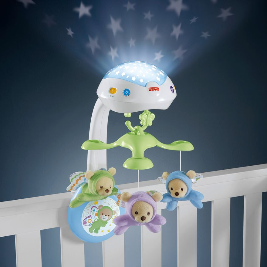 Fisher-Price Butterfly Dreams 3-in-1 Projection Mobile image-0