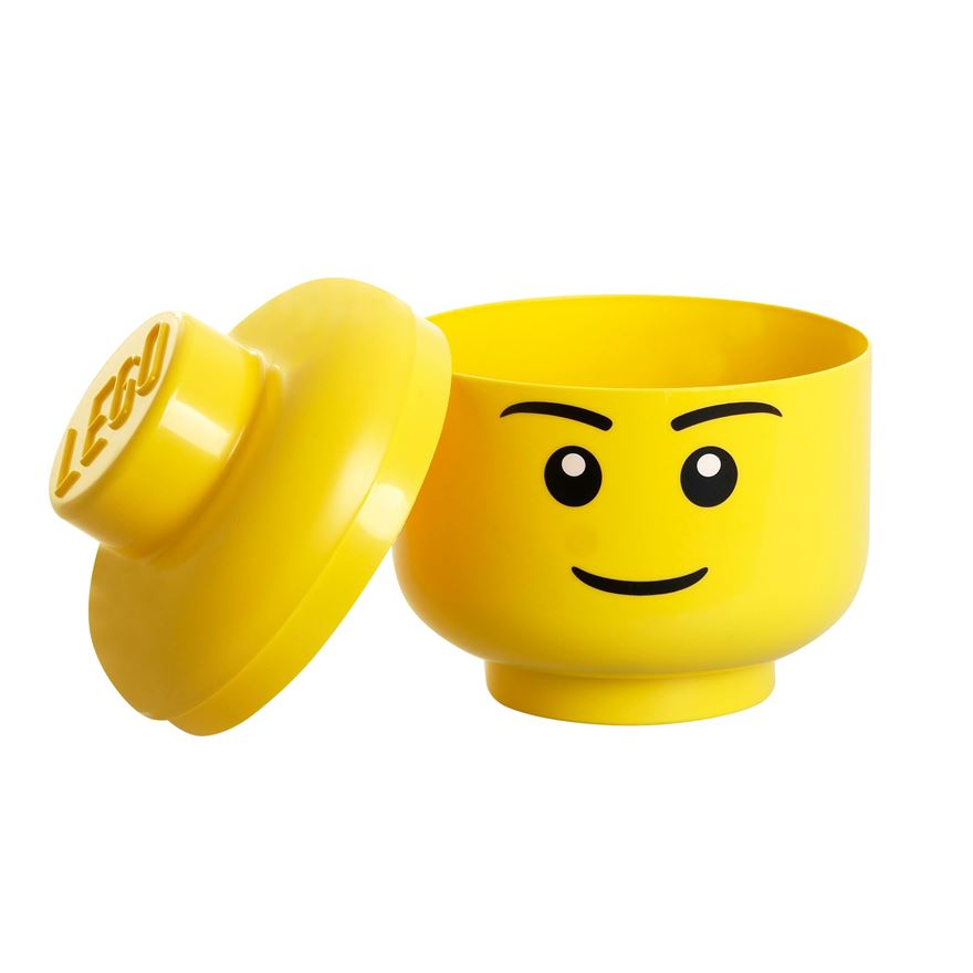 LEGO Storage Head Small Boy image-0