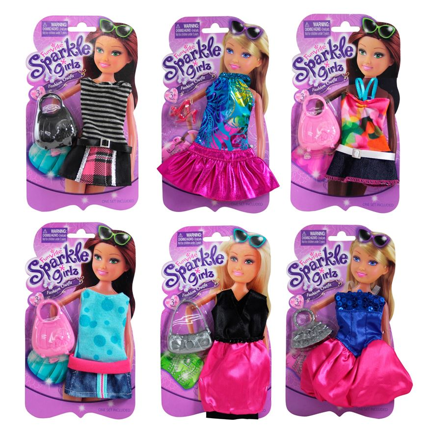 Sparkle Girlz  Single outfit set 11.5 inch