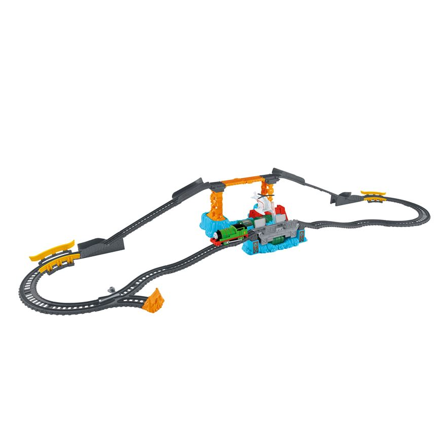 Thomas & Friends TrackMaster Harold's High-Flying Rescue Set image-0