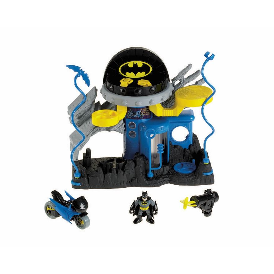 Imaginext DC Super Friends Batman Command Centre image-0