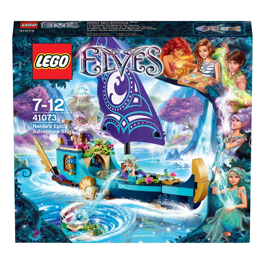 LEGO Elves Naida's Epic Adventure Ship 41073 image-0
