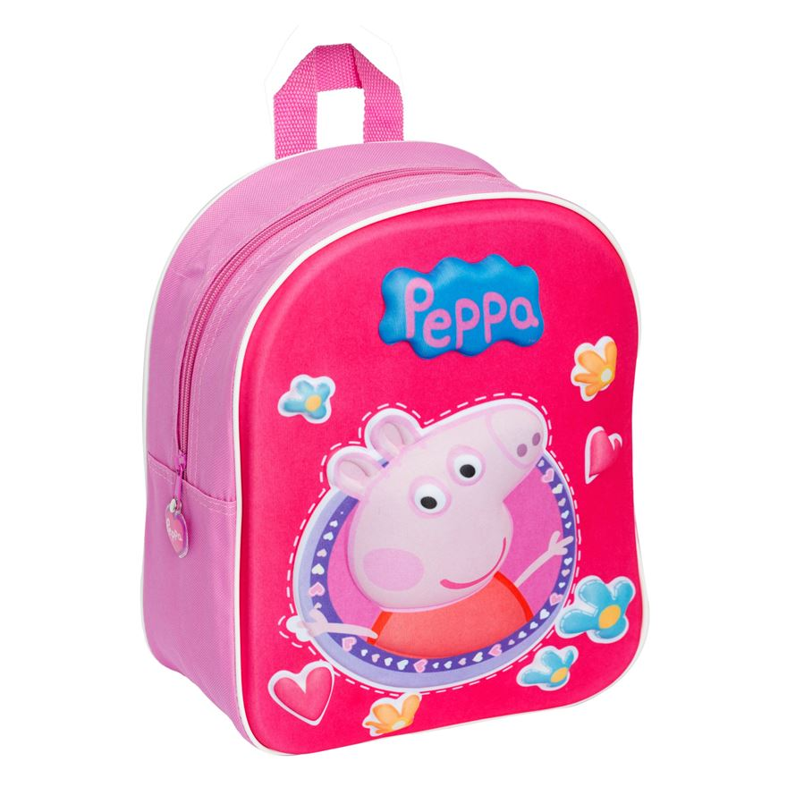 Peppa Pig 3D junior Backpack image-0