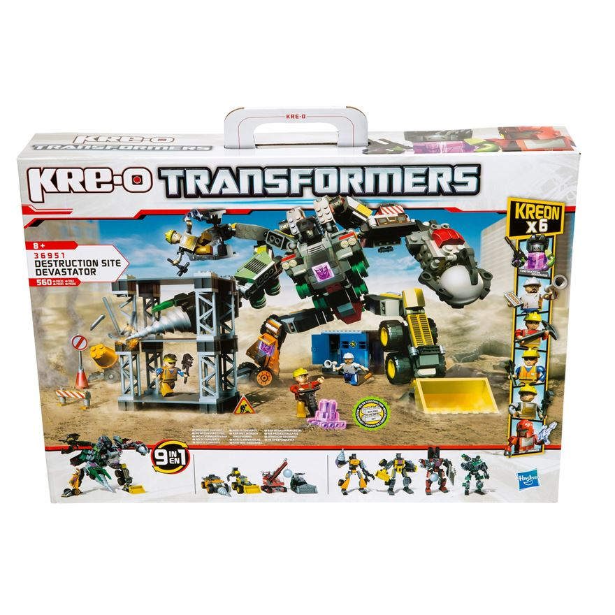 Kre-O Transformers Destruction Site Devastator Set image-0