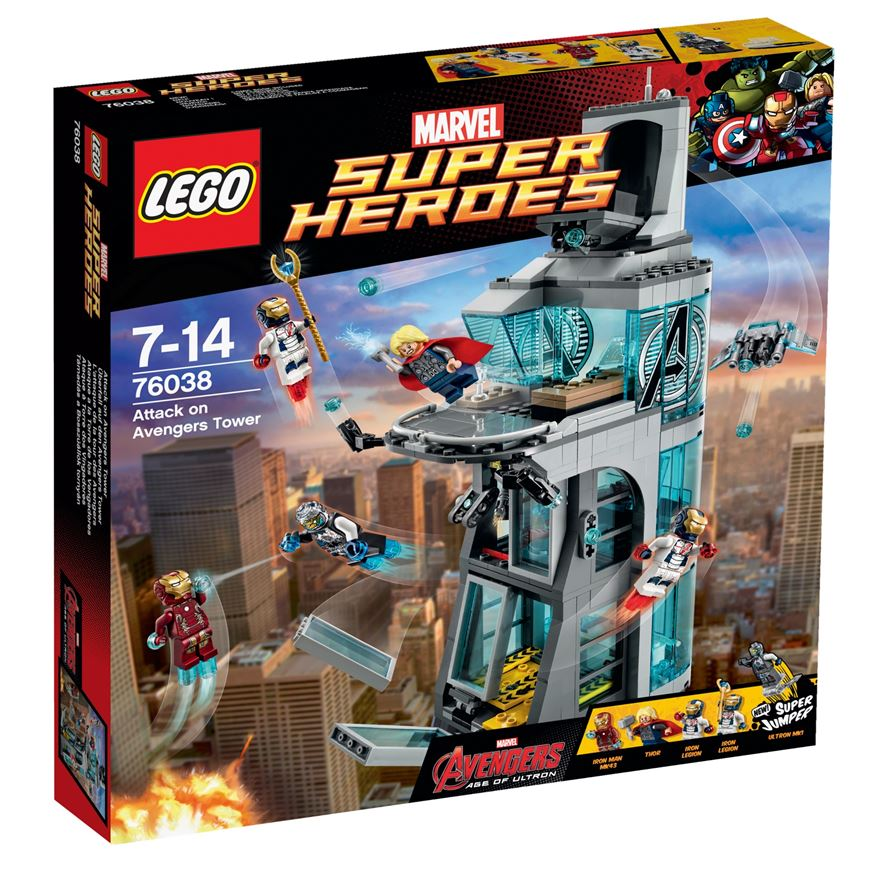 LEGO Marvel Super Heroes Attack on Avengers Tower 76038 image-0