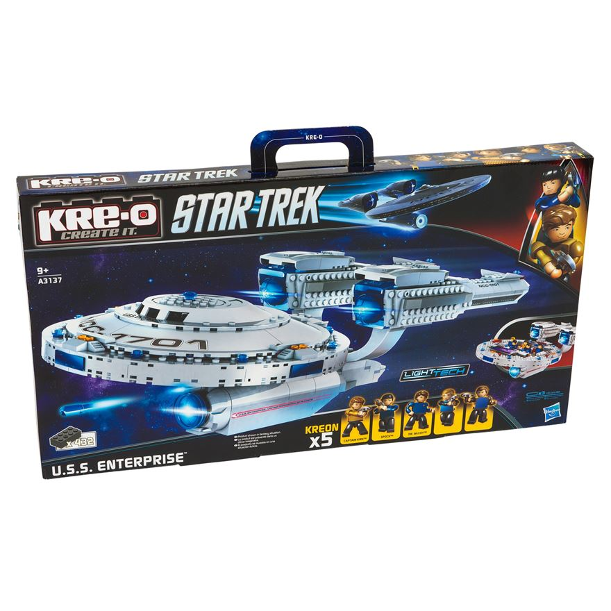 Kre-O Create It Star Trek USS Enterprise Set