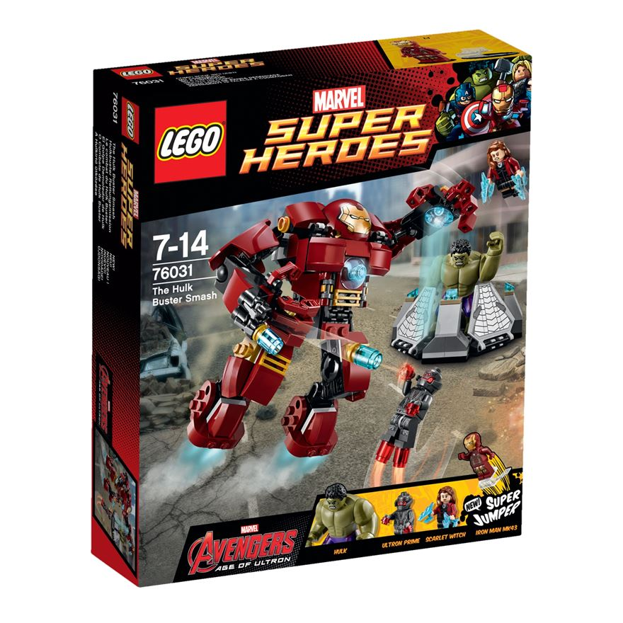 LEGO Marvel Super Heroes The Hulk Buster Smash 76031 image-0