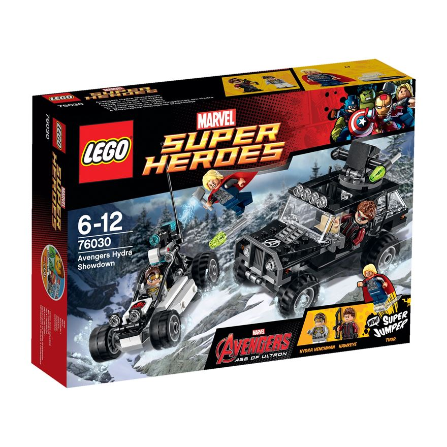 LEGO Marvel Super Heroes Avengers Hydra Showdown 76030 image-0