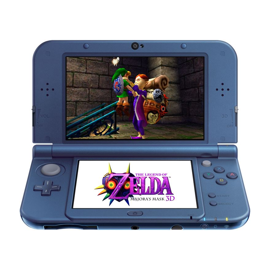 New Nintendo 3DS XL Console - Metallic Blue image-0