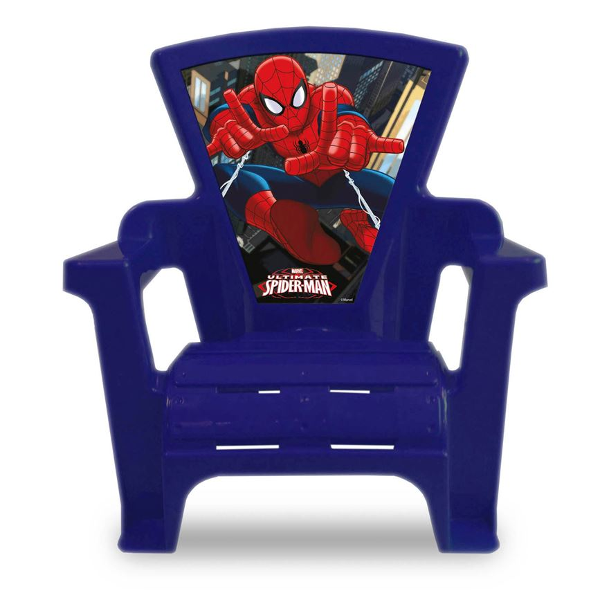 Spiderman Plastic Chair