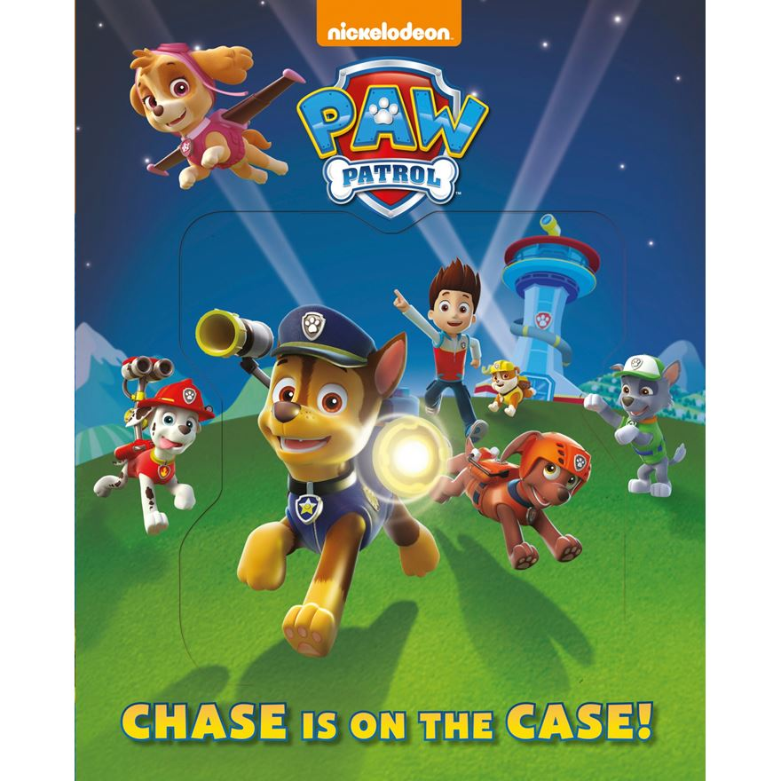 Paw Patrol Chase Is On The Case - Lenticular
