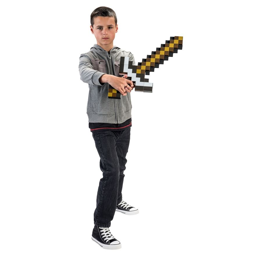 Minecraft 2-in-1 Transforming Sword/Pickaxe image-0