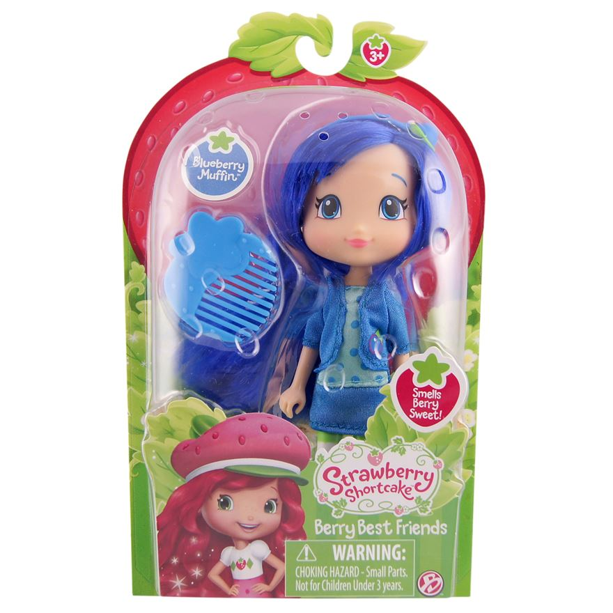 Strawberry Shortcake 6 Inch Blueberry Muffin Doll image-0