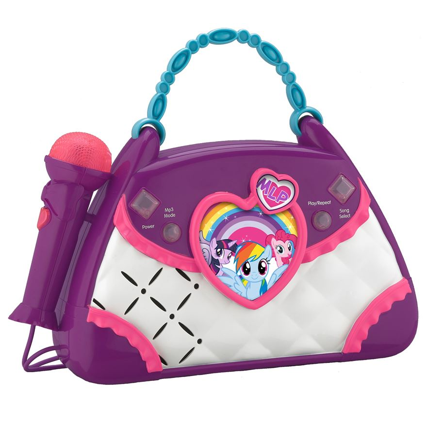My Little Pony Sing Along Boom Box image-0