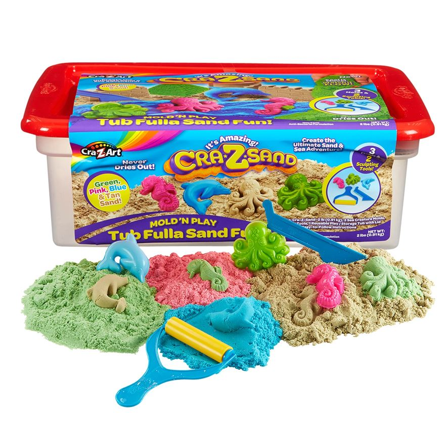 Cra-z-Sand Super Sand Fun Tub image-0