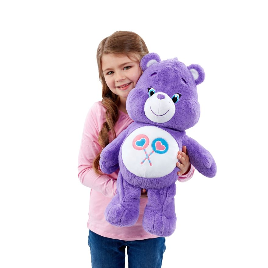 Care Bears - Large Plush Share Bear image-0