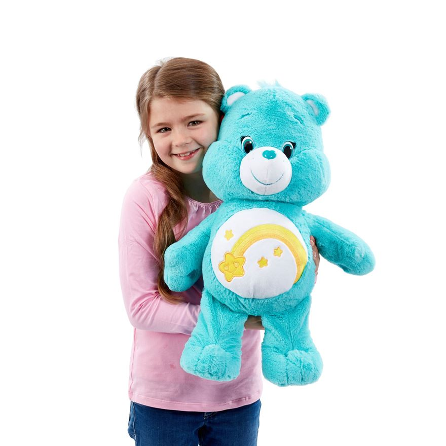 Care Bear Large Plush Wish Bear image-0