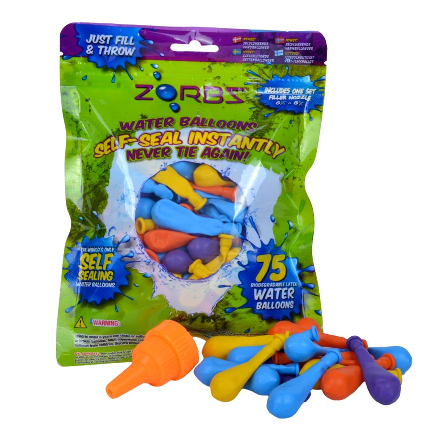 Zorbz Self Seal Water Balloons image-0